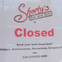 Shorty's Bar and Grill Closed